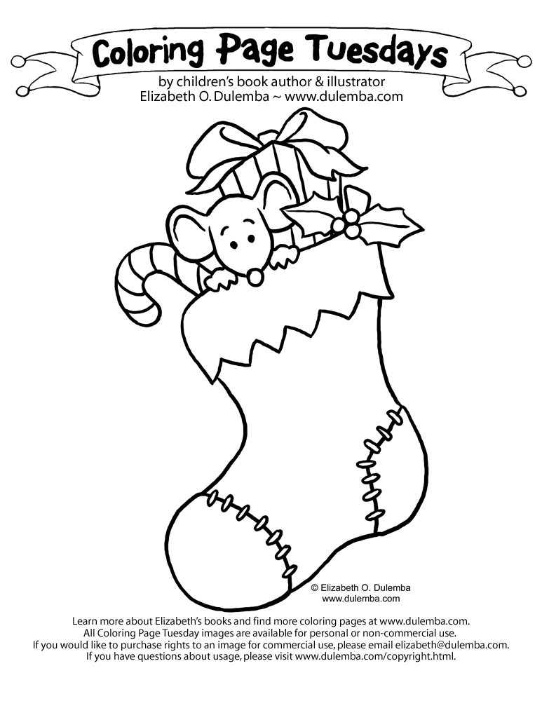 christmas crafts coloring pages - photo#26