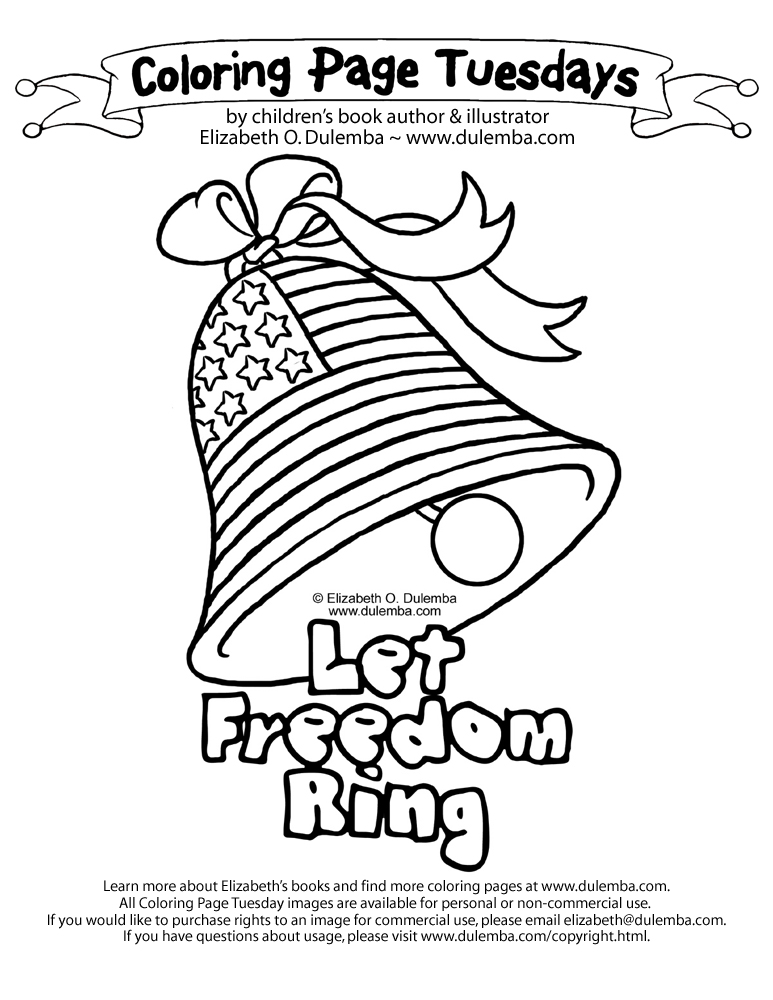 Inauguration coloring pages